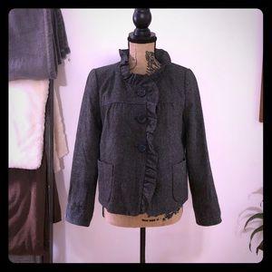JCrew Gray Fall Wool Jacket!